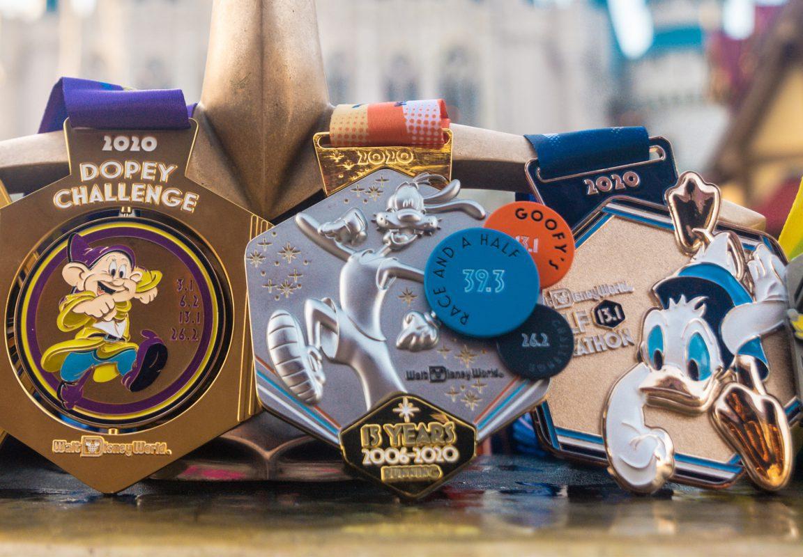 RunDisney Medaillen