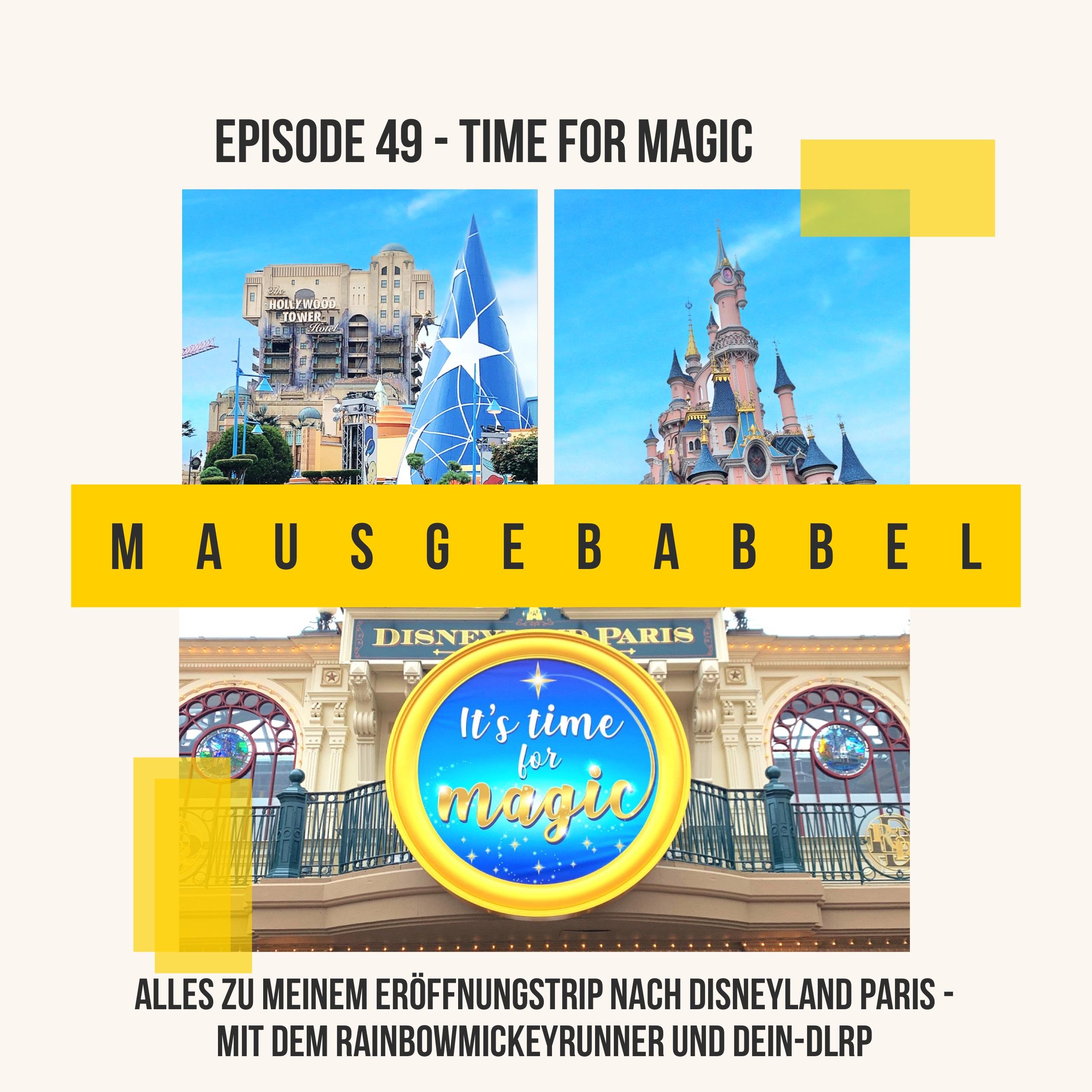 Mausgebabbel 49 - Disneyland Paris Reisebericht Cover