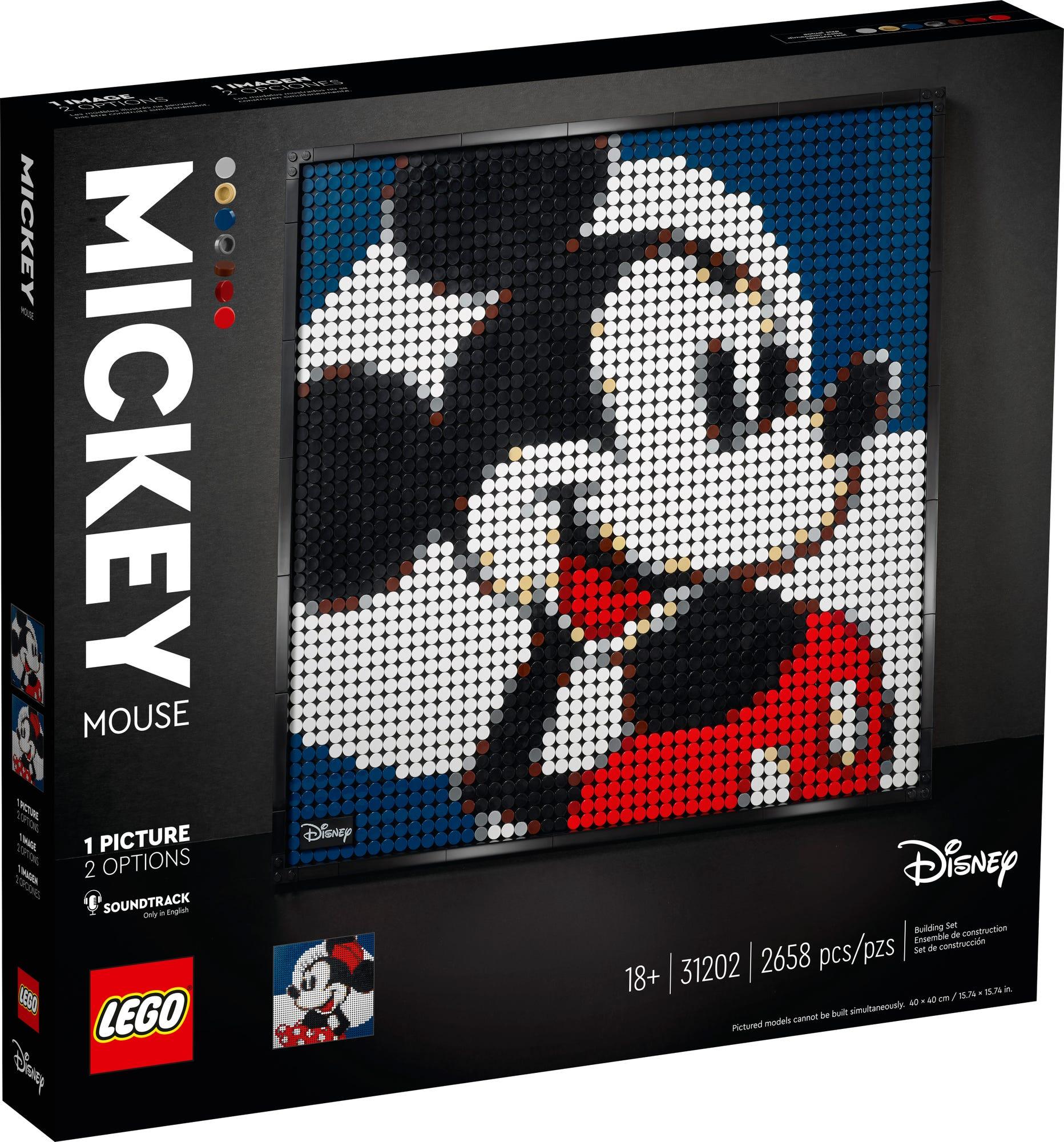 Lego Art Mickey