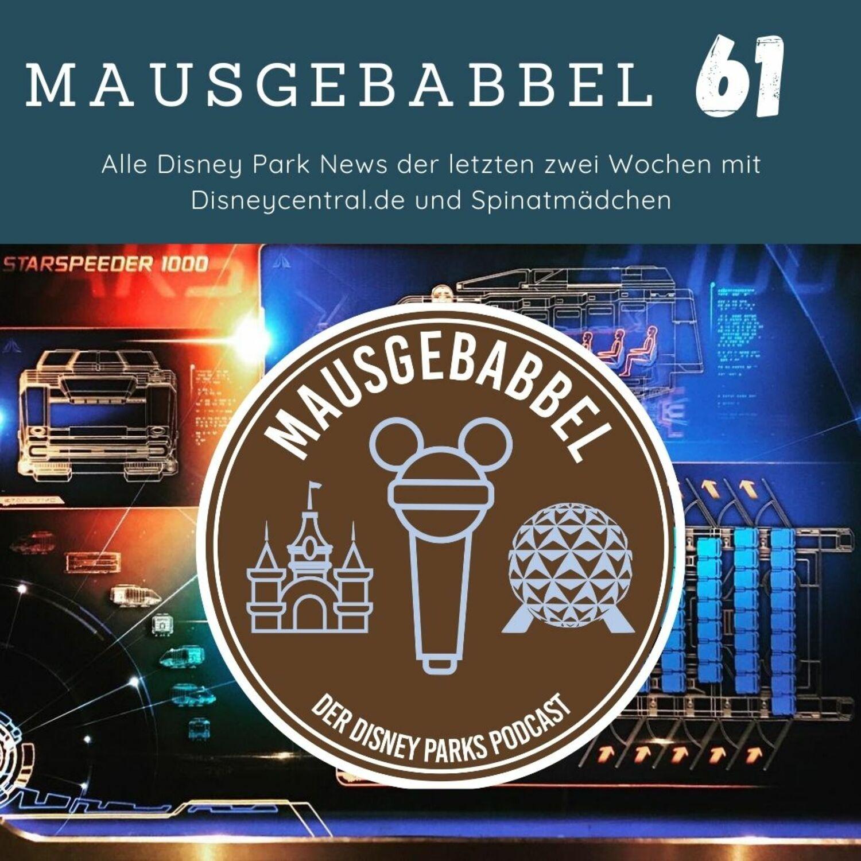 Mausgebabbel Disney Parks Podcast Episode 61