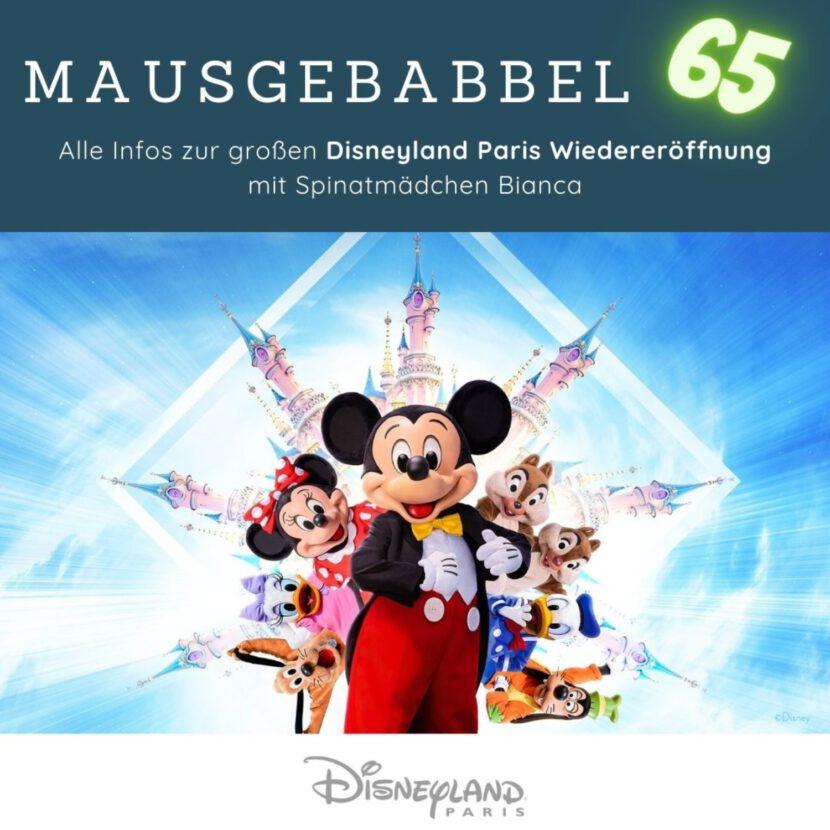 Disneyland Paris Wiedereröffnung als Podcast - Mausgebabbel 65